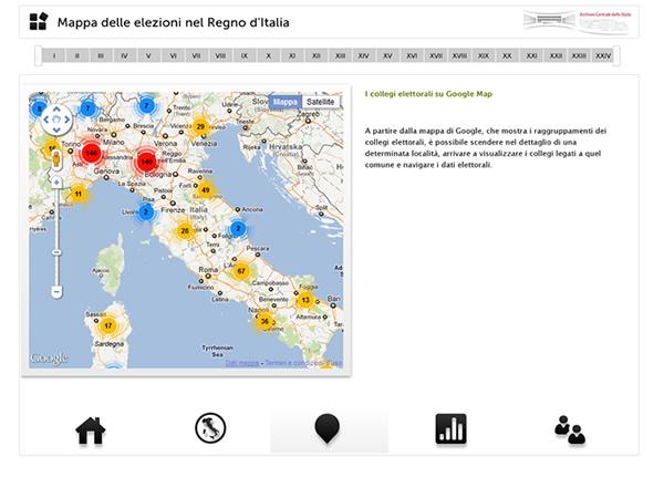 La mappa delle elezioni camera dei deputati for Numero senatori e deputati in italia